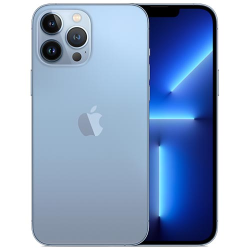 گوشی موبایل اپل آیفون 13 پرومکس رنگ آبی آسمانی 256 گیگ   Apple iPhone 13 Pro Max Sierra Blue 256GB