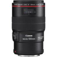 لنز ماکرو کانن مدل Canon EF 100mm f/2.8L Macro IS USM