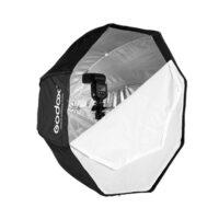 اکتاباکس چتری اسپیدلایت 120 سانت | Godox 120cm Softbox Umbrella Reflector for Speedlight