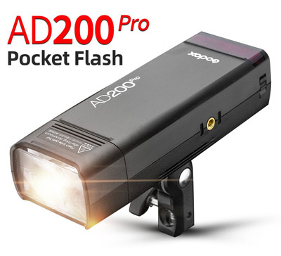 فلاش پرتابل AD200 پرو گودکس | Godox AD200Pro TTL Pocket Flash Kit