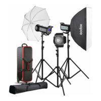 کیت 3شاخه فلاش استودیویی گودکس Godox QS400II 3-Light Studio Flash Kit