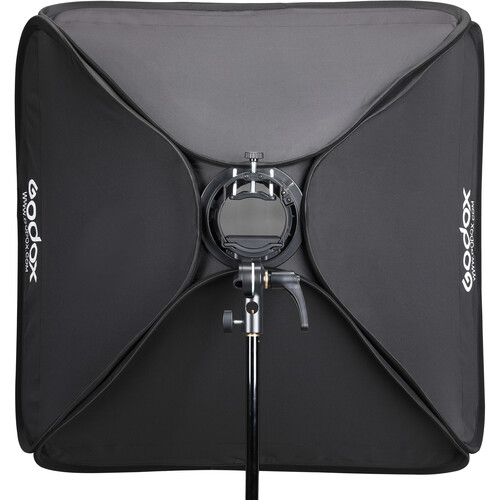سافت باکس اسپیدلایت S2 گودکس   Godox S2 Speedlight Bracket With Softbox 80x80cm
