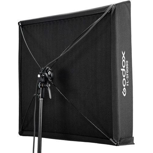 سافت باکس و گرید FL-150S گودکس 60×60 سانتی متر   Godox Softbox with Grid for Flexible LED Panel FL150S