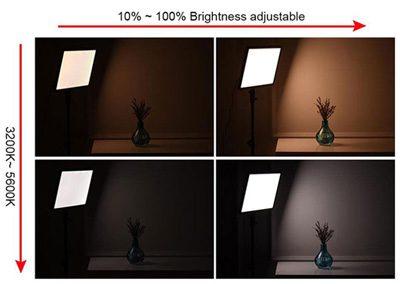 ویدیو لایت گودکس Godox LED P260C LED Light Panel | LED P-260C
