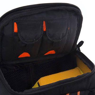 کوله پشتی دوربین ویست Vist VD60 Camera Backpack Yellow/Black