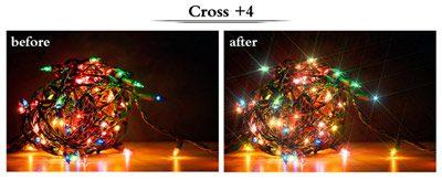 فیلتر لنز ستاره ای 67 میلی متر | Zomei 67mm Star-Effect Star 4 Plus