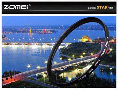 فیلتر لنز ستاره ای 77 میلی متر   Zomei 77mm Star-Effect Star 6 Plus